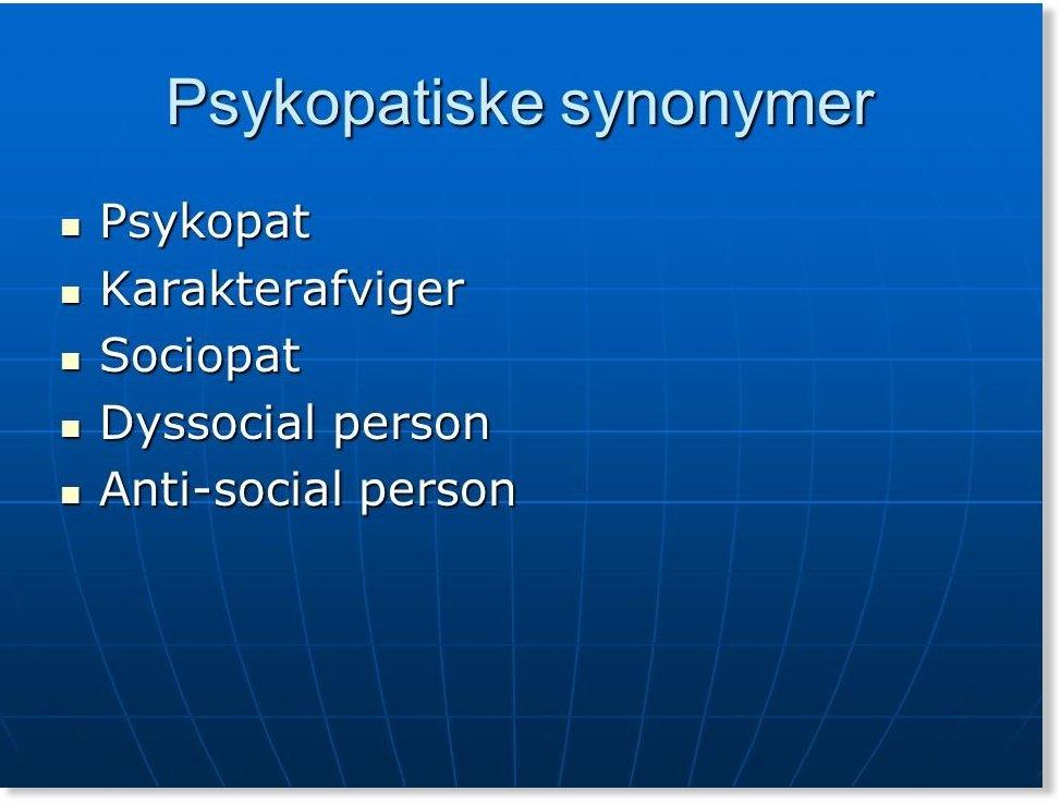 test personlighedsforstyrrelse