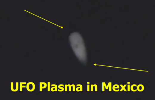 Plasma UFO over Veracruz i Mexico?