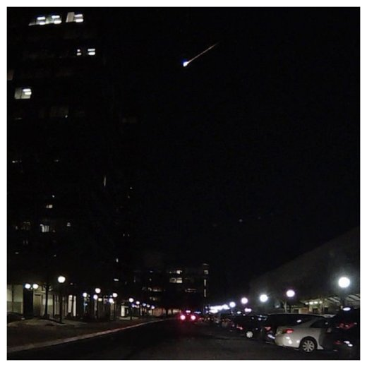Fireball over DC