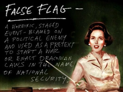 Teaching false flags