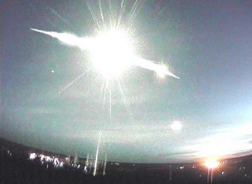 Meteor fireball over Finland