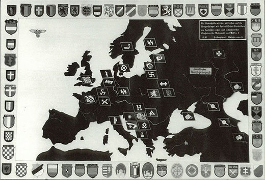 European SS map