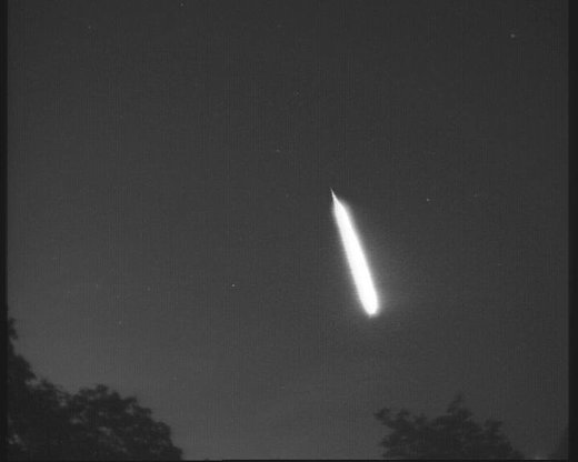 Poland fireball