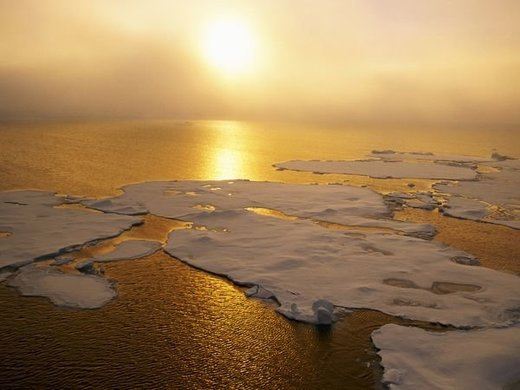 Sun over Arctic
