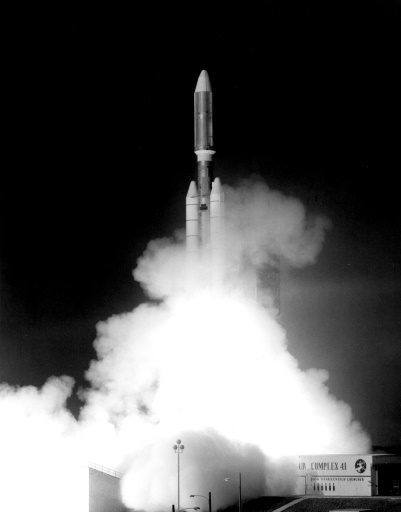 launch of NASA's Voyager 1 spacecraft