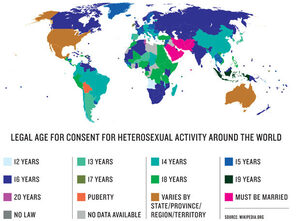 Age of consent in the world