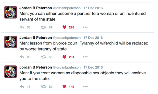 Peterson tweets