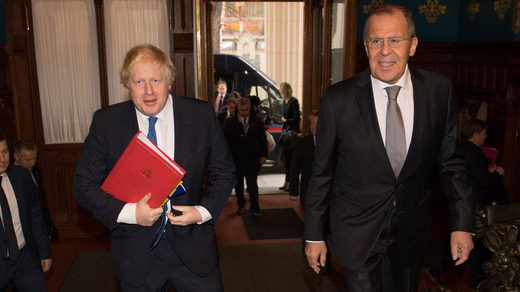 boris johnson lavrov