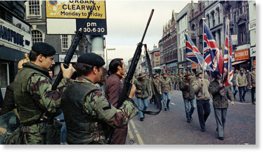 British soldiers Loyalists Northern Ireland