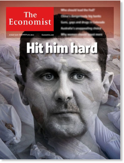 Cover of The Economist, August 31st, 2013
