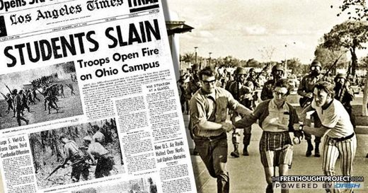 troops Ohio campus 1970 massacre