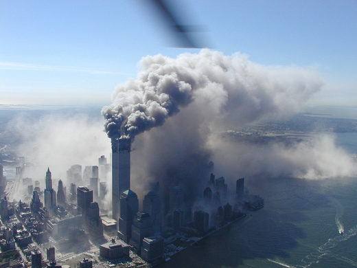 9/11 smoke towers