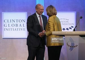 Lloyd Blankfein clinton foundation