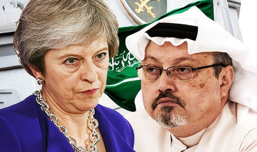 theresa may khashoggi