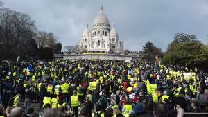 sacre coeur yellow vests