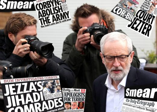 corbyn media attacks