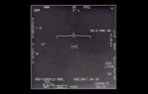UFO captured by Navy 2004
