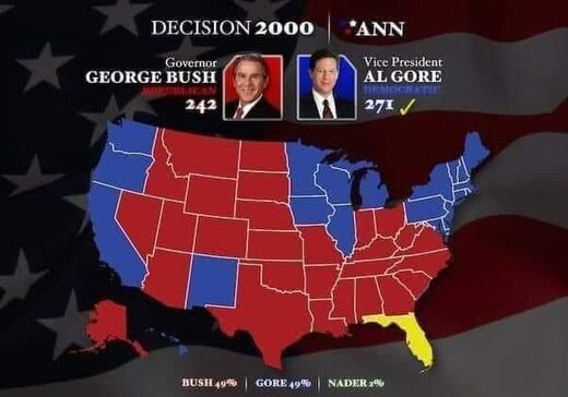 bush vs gore florida election