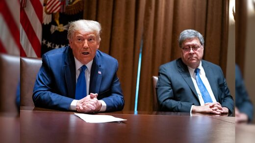 William Barr Donald Trump