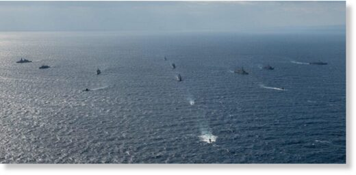 NATO Dynamic Manta anti-submarine warfare exercise